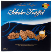Truffes Milk chocolate 200g