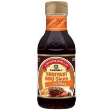 Kikkoman Терияки барбекю сос с мед  250 мл